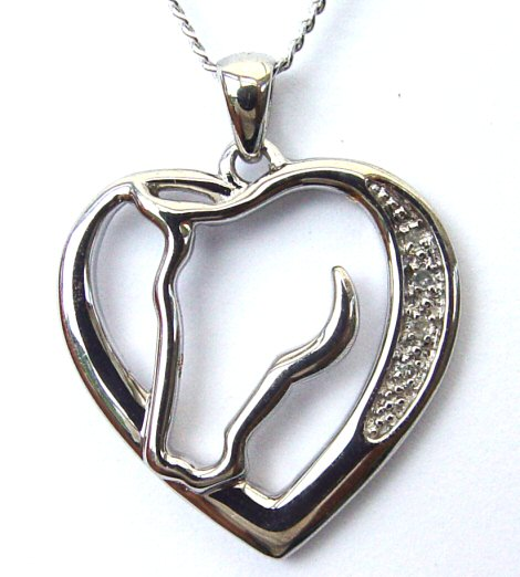 Horses In My Heart Necklace