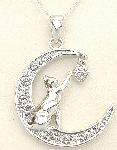 cat jewelry you touch my necklace gold 6167
